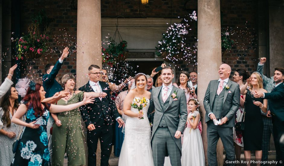 Dan and Debbie's Wedding in Tarporley, Cheshire