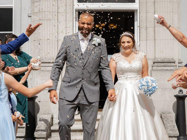 Kane and Lisa's Wedding in Reading, Berkshire 18