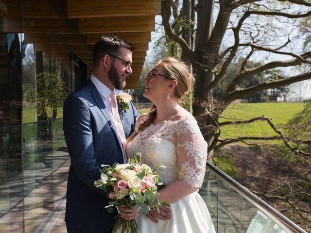 Matt and Liz's Wedding in Bramham, West Yorkshire 8