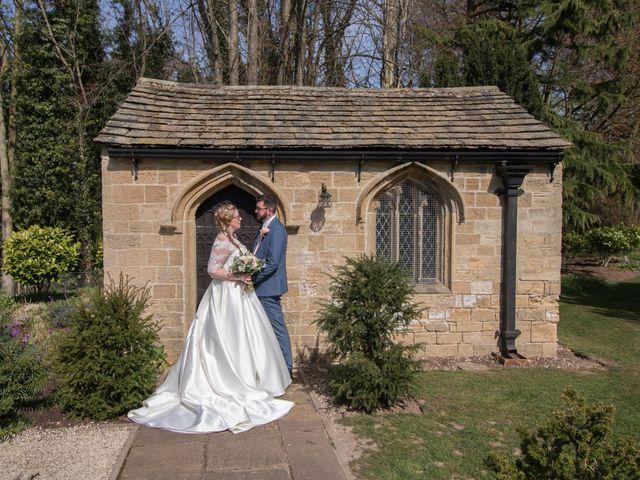 Matt and Liz's Wedding in Bramham, West Yorkshire 9