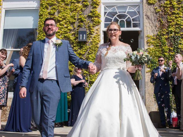 Matt and Liz's Wedding in Bramham, West Yorkshire 12
