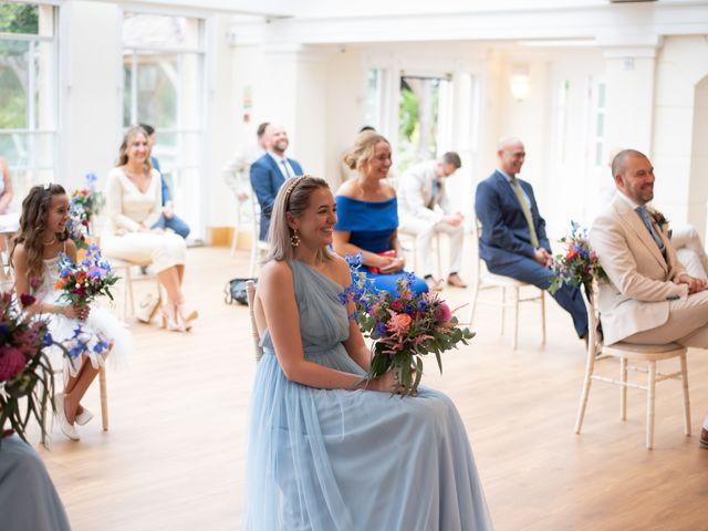 Kyan and Rhianna's Wedding in Richmond-upon-Thames, Surrey 16