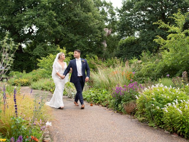 Kyan and Rhianna's Wedding in Richmond-upon-Thames, Surrey 2