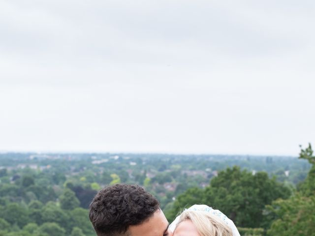 Kyan and Rhianna's Wedding in Richmond-upon-Thames, Surrey 35