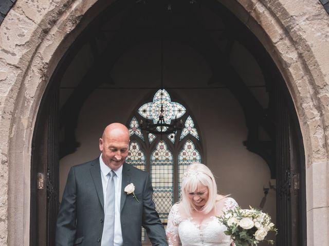 Mark & Debbie's wedding