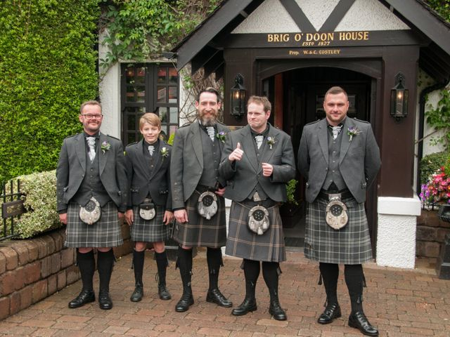 Andrew and Cheryl's Wedding in Ayr, Dumfries Galloway & Ayrshire 11