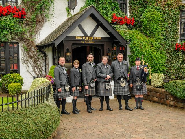 Andrew and Cheryl's Wedding in Ayr, Dumfries Galloway & Ayrshire 12