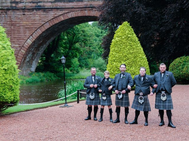 Andrew and Cheryl's Wedding in Ayr, Dumfries Galloway & Ayrshire 16