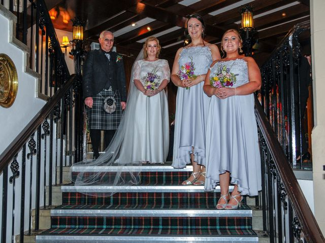 Andrew and Cheryl's Wedding in Ayr, Dumfries Galloway & Ayrshire 19