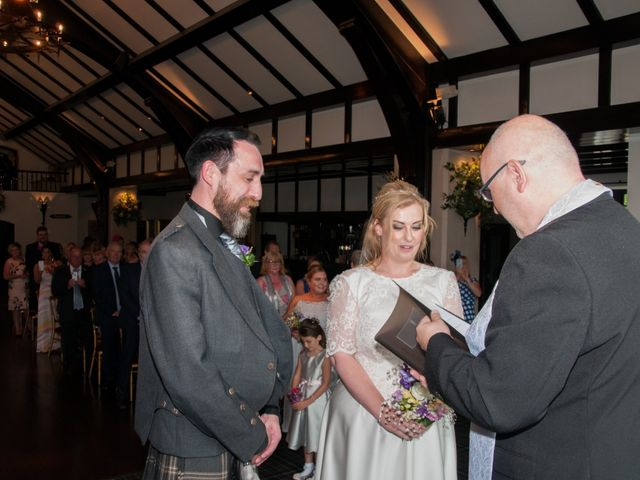 Andrew and Cheryl's Wedding in Ayr, Dumfries Galloway & Ayrshire 21