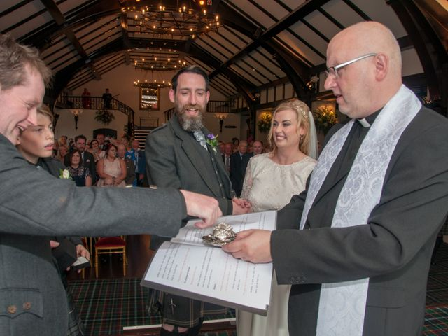 Andrew and Cheryl's Wedding in Ayr, Dumfries Galloway & Ayrshire 22