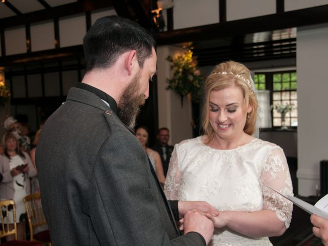 Andrew and Cheryl's Wedding in Ayr, Dumfries Galloway & Ayrshire 23