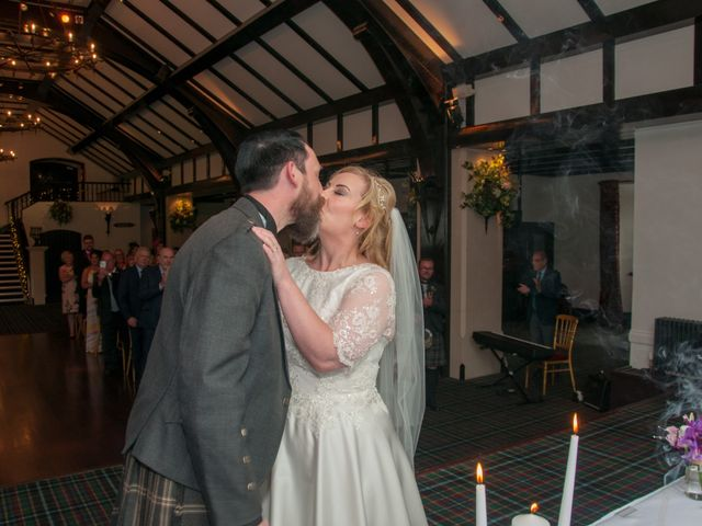 Andrew and Cheryl's Wedding in Ayr, Dumfries Galloway & Ayrshire 24
