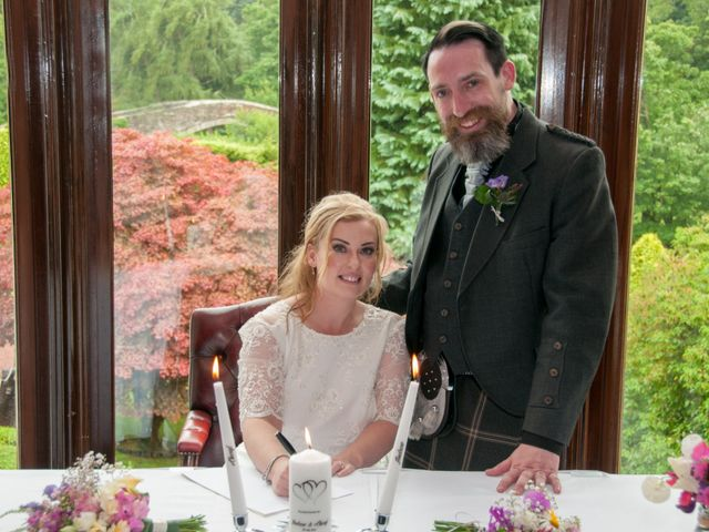 Andrew and Cheryl's Wedding in Ayr, Dumfries Galloway & Ayrshire 25