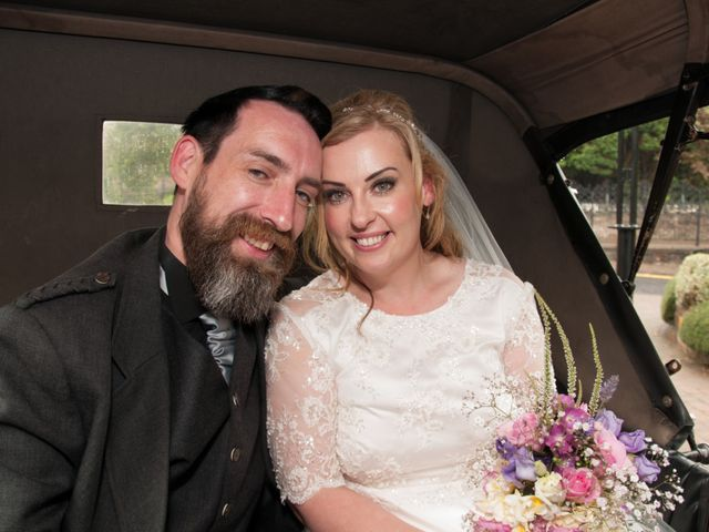 Andrew and Cheryl's Wedding in Ayr, Dumfries Galloway & Ayrshire 26