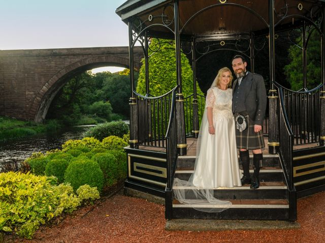 Andrew and Cheryl's Wedding in Ayr, Dumfries Galloway & Ayrshire 31