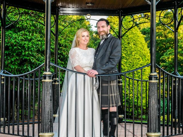 Andrew and Cheryl's Wedding in Ayr, Dumfries Galloway & Ayrshire 32