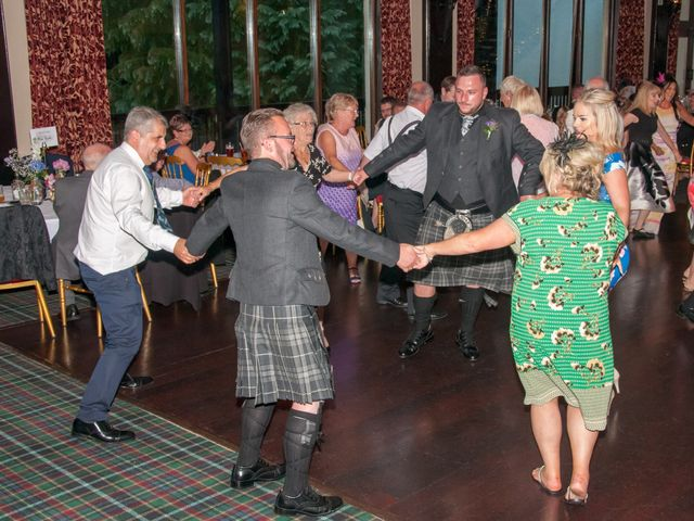 Andrew and Cheryl's Wedding in Ayr, Dumfries Galloway & Ayrshire 34