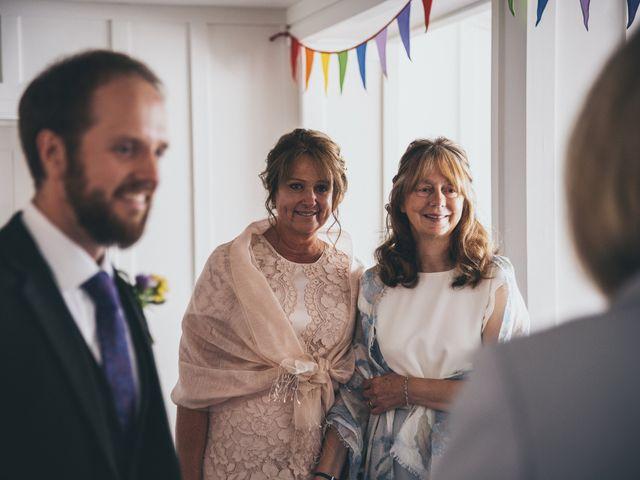 Jess and Matt's Wedding in Sidmouth, Devon 16