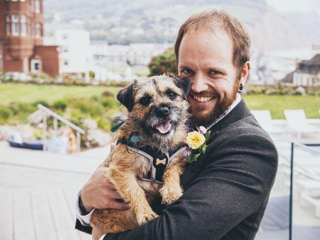 Jess and Matt's Wedding in Sidmouth, Devon 19