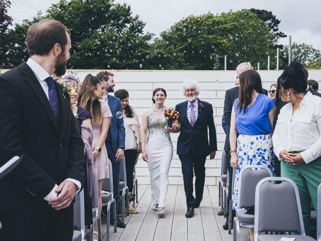 Jess and Matt's Wedding in Sidmouth, Devon 20