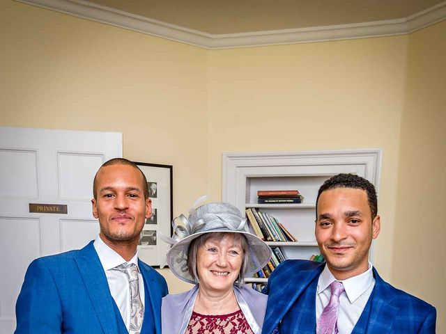 Louis and Bernie's Wedding in Richmond-upon-Thames, Surrey 4