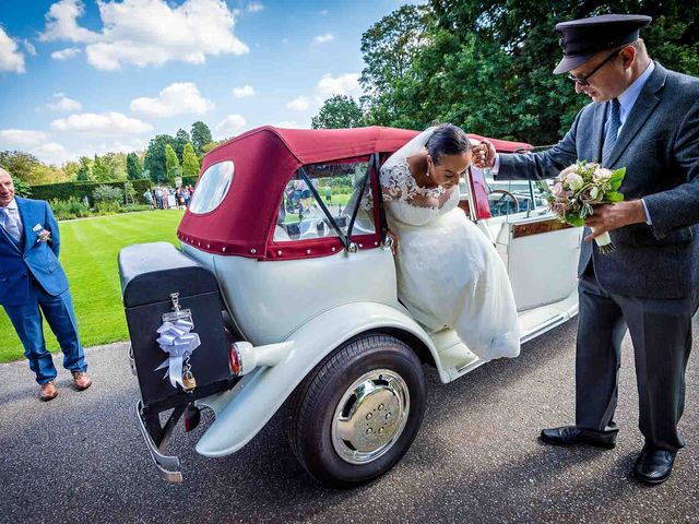 Louis and Bernie's Wedding in Richmond-upon-Thames, Surrey 9