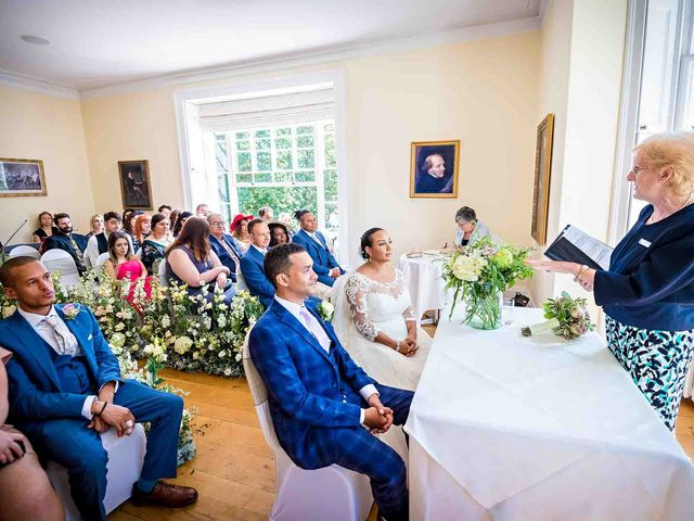 Louis and Bernie's Wedding in Richmond-upon-Thames, Surrey 24