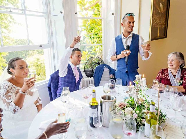 Louis and Bernie's Wedding in Richmond-upon-Thames, Surrey 113