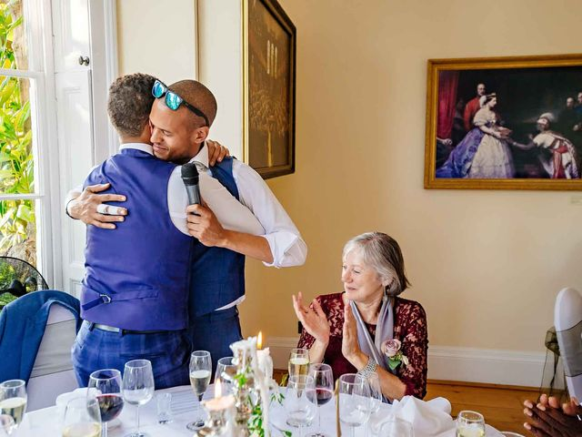 Louis and Bernie's Wedding in Richmond-upon-Thames, Surrey 117