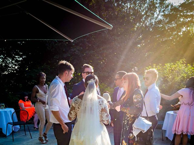 Louis and Bernie's Wedding in Richmond-upon-Thames, Surrey 126