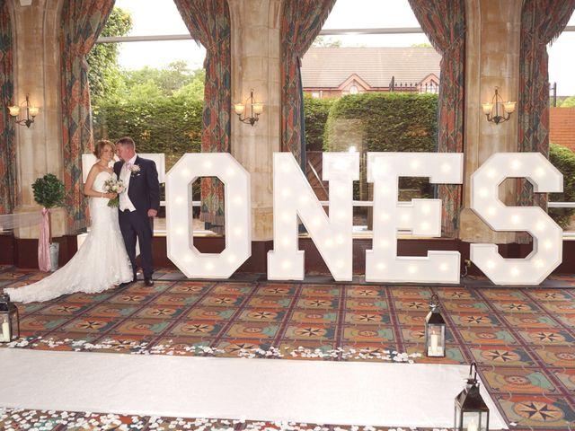 Victoria & Andy Jones's wedding