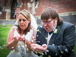 Penny & Dave's wedding