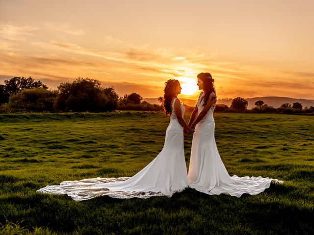 Katie & Yvette's wedding