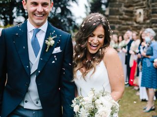 Rebecca & Sam's wedding