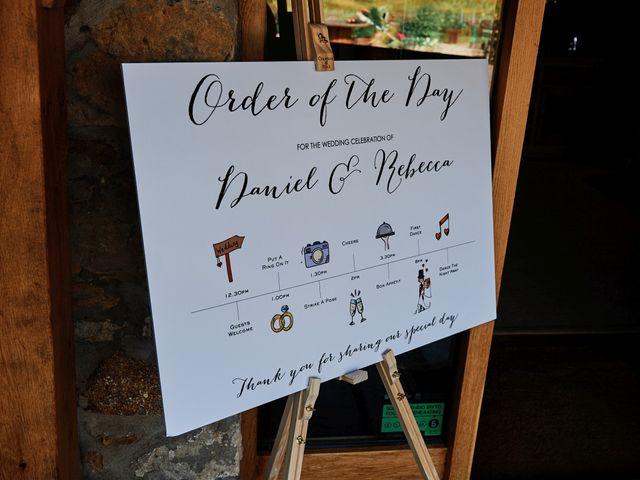 Daniel and Rebecca's Wedding in Wrexham, Cheshire 5