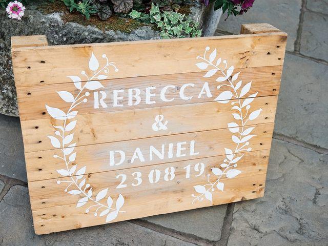 Daniel and Rebecca's Wedding in Wrexham, Cheshire 23