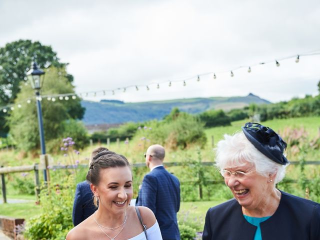 Daniel and Rebecca's Wedding in Wrexham, Cheshire 35
