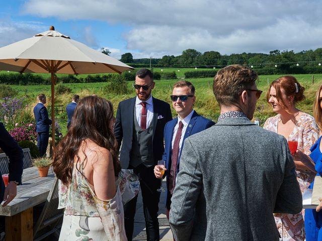 Daniel and Rebecca's Wedding in Wrexham, Cheshire 37