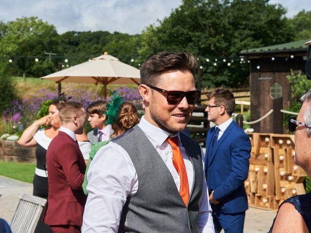 Daniel and Rebecca's Wedding in Wrexham, Cheshire 38