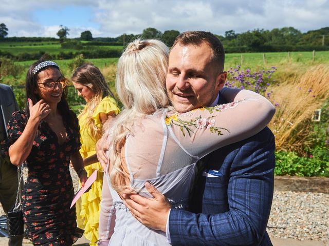 Daniel and Rebecca's Wedding in Wrexham, Cheshire 40