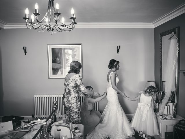 Daniel and Rebecca's Wedding in Wrexham, Cheshire 46
