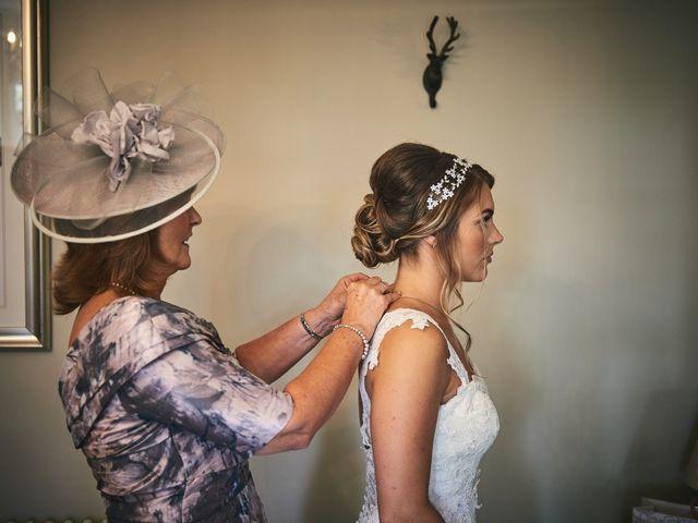 Daniel and Rebecca's Wedding in Wrexham, Cheshire 49