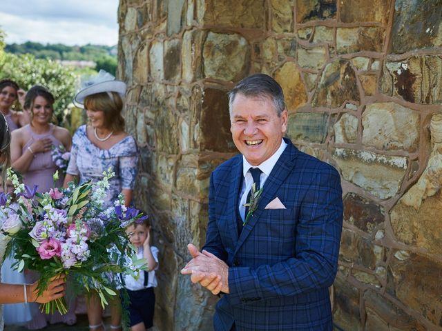 Daniel and Rebecca's Wedding in Wrexham, Cheshire 55