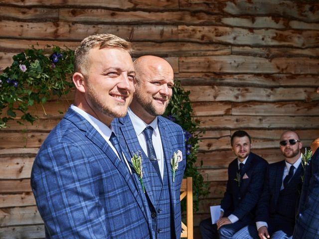 Daniel and Rebecca's Wedding in Wrexham, Cheshire 56