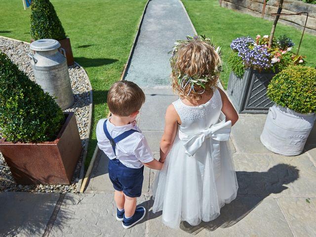 Daniel and Rebecca's Wedding in Wrexham, Cheshire 57