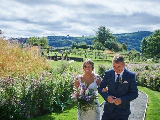 Daniel and Rebecca's Wedding in Wrexham, Cheshire 60