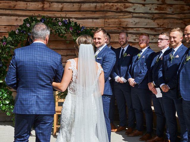 Daniel and Rebecca's Wedding in Wrexham, Cheshire 61