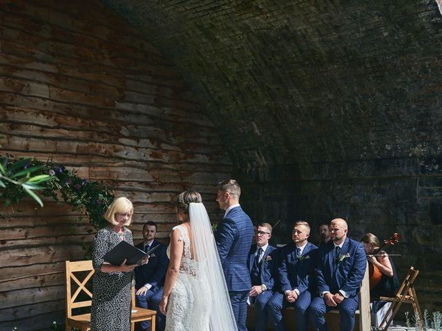 Daniel and Rebecca's Wedding in Wrexham, Cheshire 63