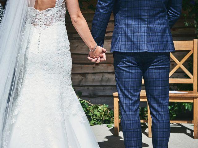 Daniel and Rebecca's Wedding in Wrexham, Cheshire 64